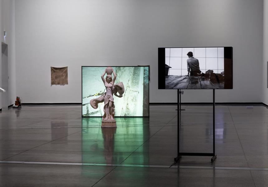 A Biography of Daphne 2021, installation view, Australian Centre for Contemporary Art, Melbourne.
