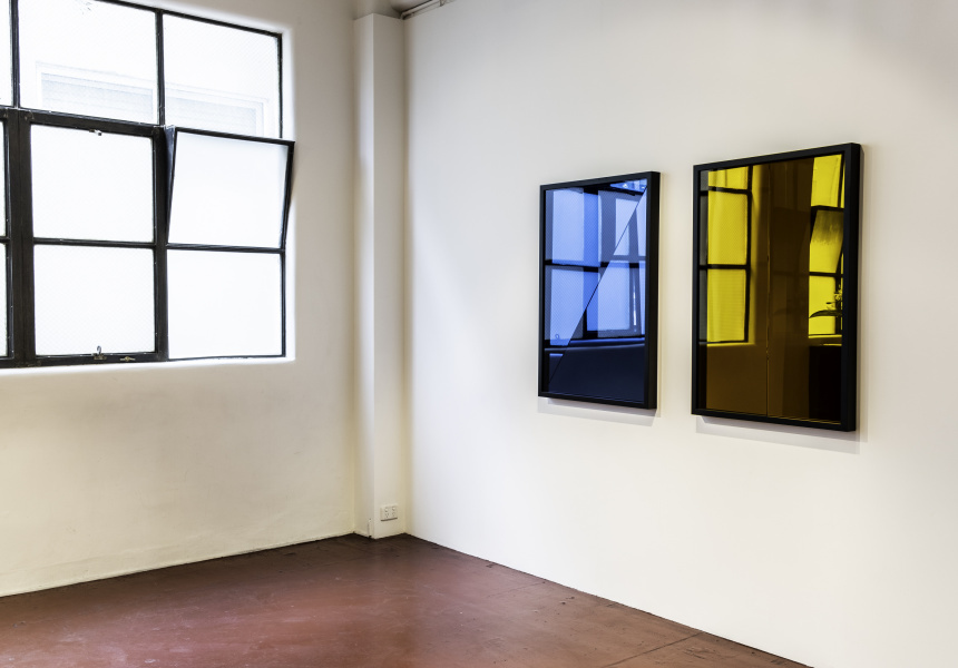 Illusions and Allusions (installation view), Missing Persons, 30 June–22 July 2018. Image courtesy of Missing Persons