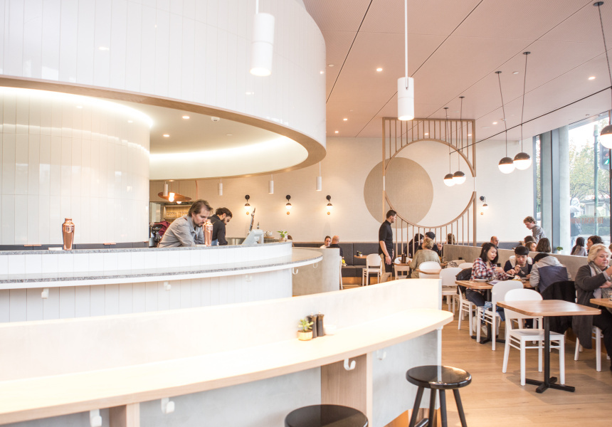 Box hill s penny drop wins top global design award for Interior design agency melbourne