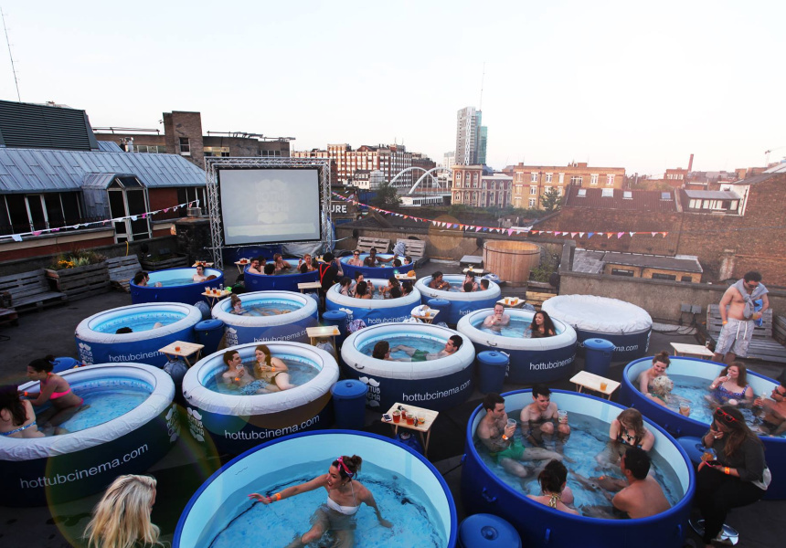 Hot Tub Cinema Hackney