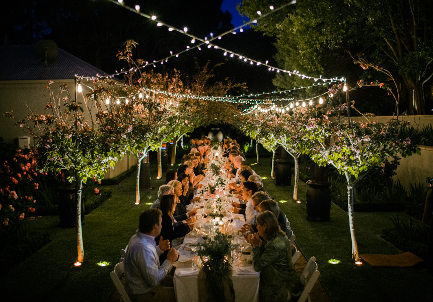 Dining by Twilight at Margaret River's Secret Garden 2018