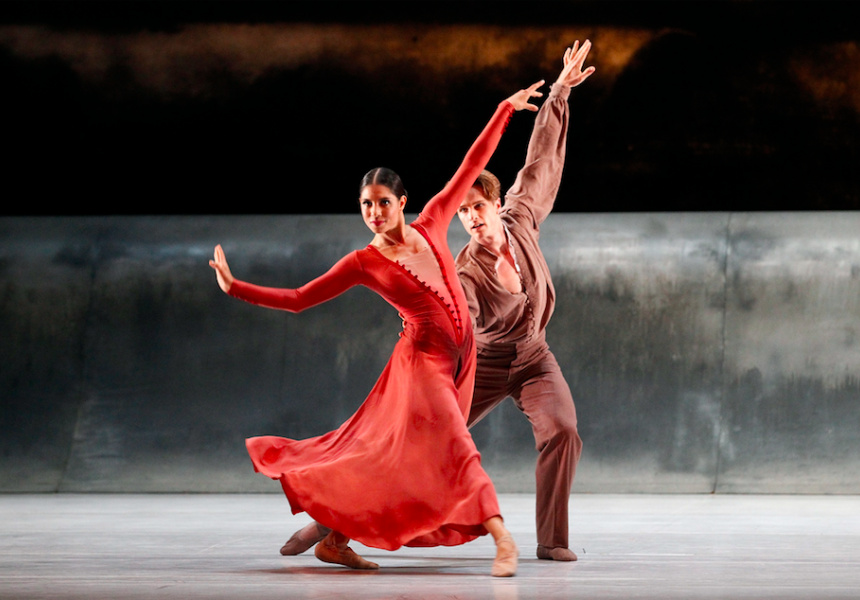 The Australian Ballet Production Vitesse with Ella Havelka and Christopher Rogers-Wilson