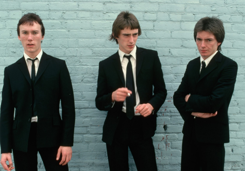John Simons: A Modernist, The Jam, mod figureheads, photographed by Neal Preston in the Guardian