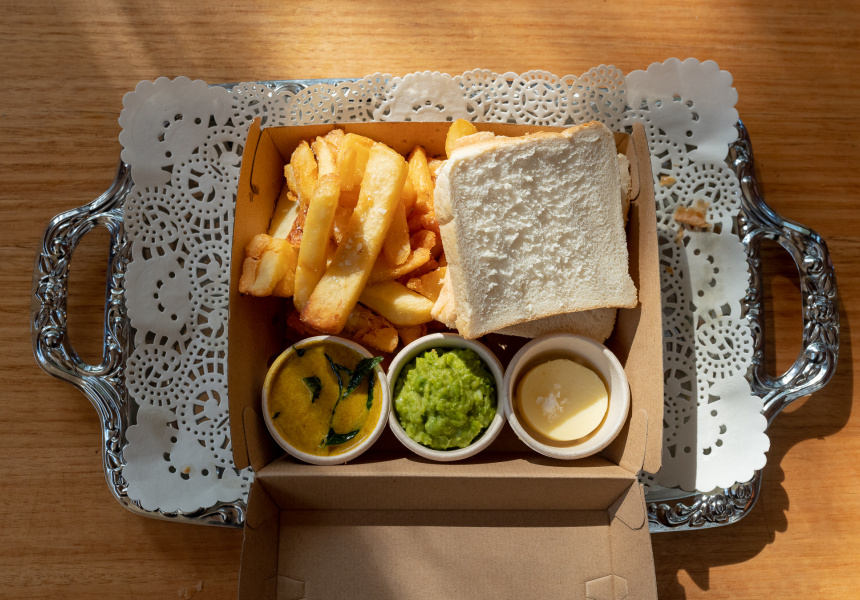 The Old Fitzroy's chip butty