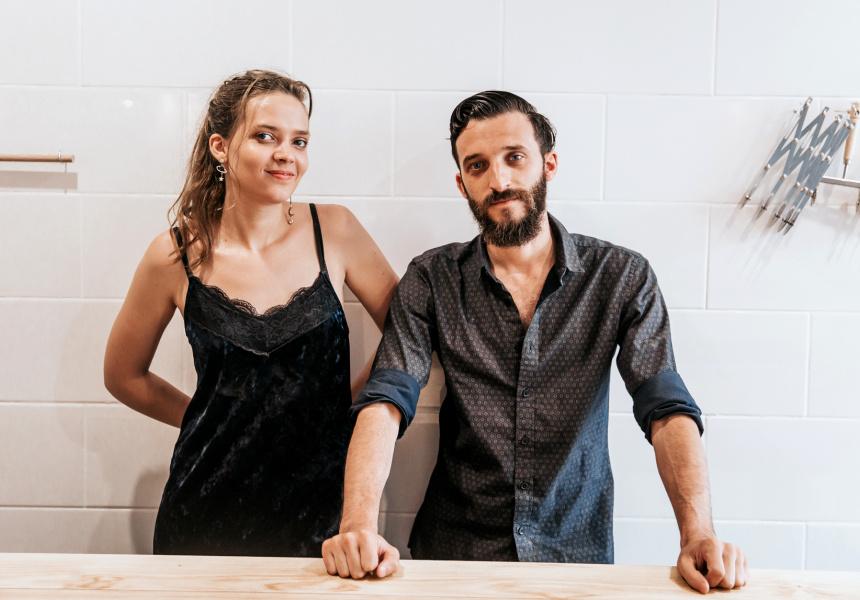 Anita and Nicolo' Campagnari