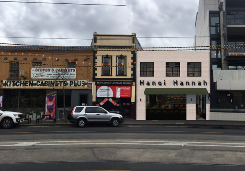 Render of the new and expanded Hanoi Hannah