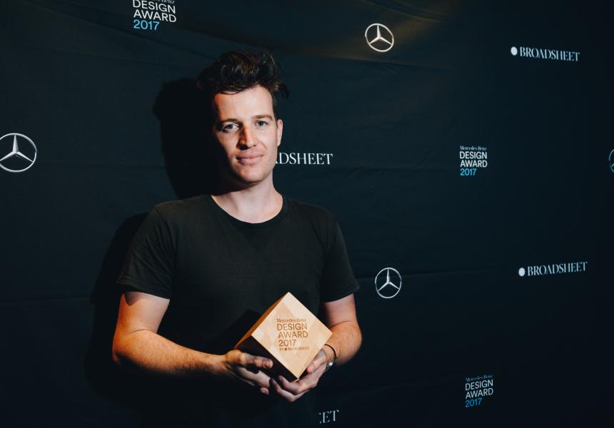 Tom Fereday, Mercedes-Benz Design Award trophy created by Evostyle