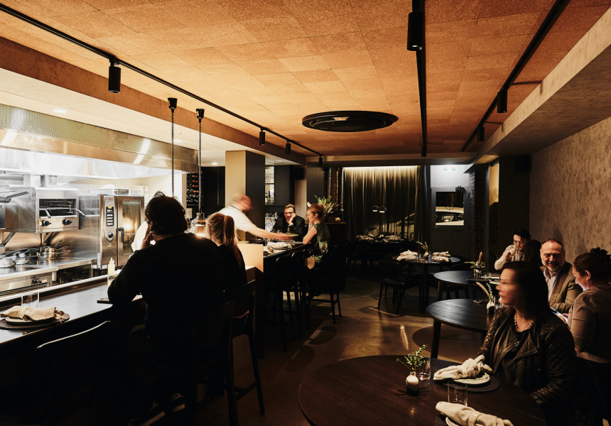 The dining room at Navi