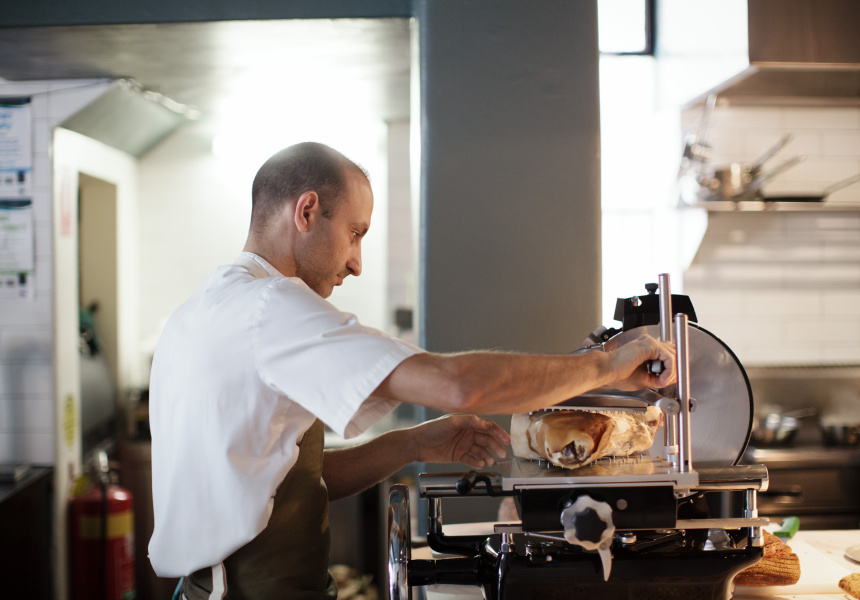 Andreas Papadakis, chef and co-owner of Tipo 00.