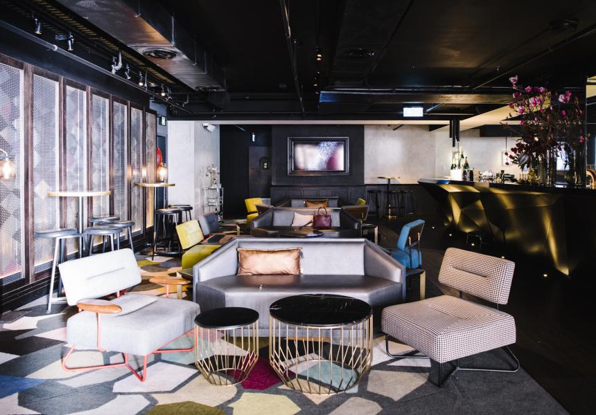 Gilt Lounge, QT Sydney