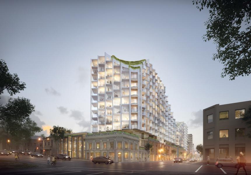 Gurner's proposed Wellington Street development
