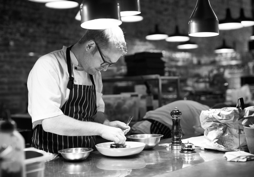Bread in Common head chef, Chris Eales.
