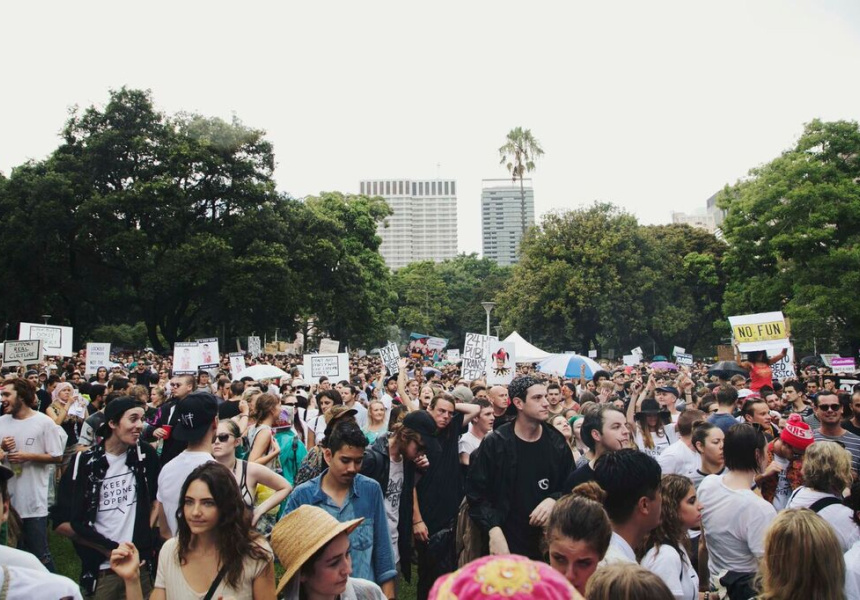 Mass protest organised in Sydney to fight NSW music festival regulations