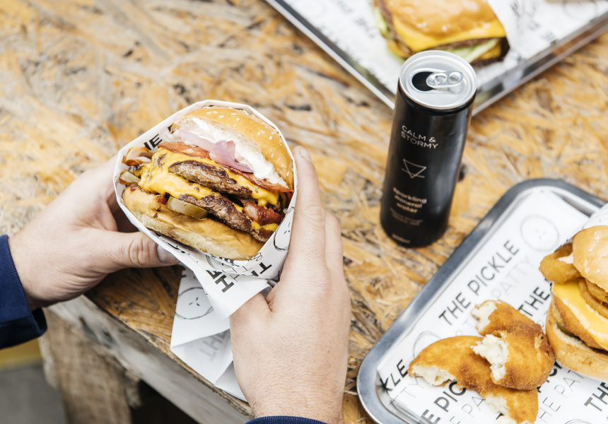 A Tiny New Burger Spot in Ascot Vale