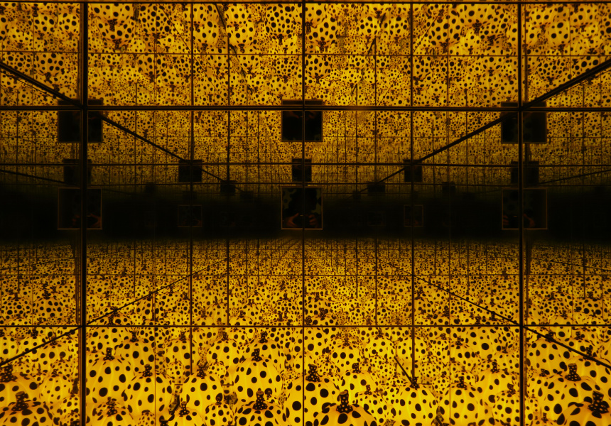 Yayoi Kusama; The Spirits Of The Pumpkins Descended Into Heavens