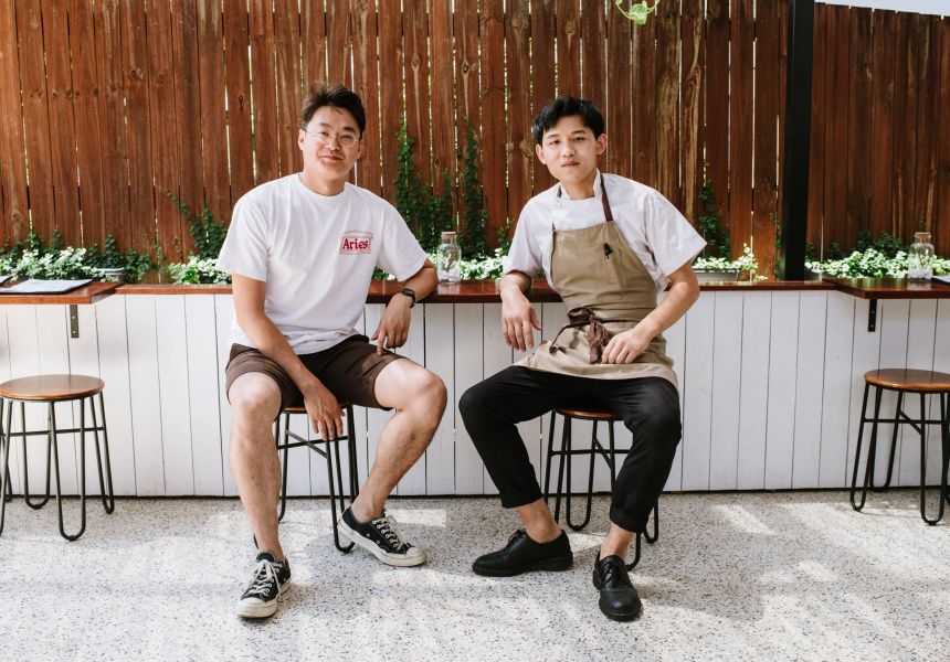Ethan Dou and Jerry Huang