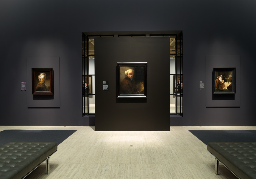 Installation view of the exhibition 'Rembrandt and Dutch golden age: masterpieces from the Rijksmuseum' at the Art Gallery of New South Wales, 11 November 2017 – 18 February 2018 Photo: AGNSW, Jenni Carter