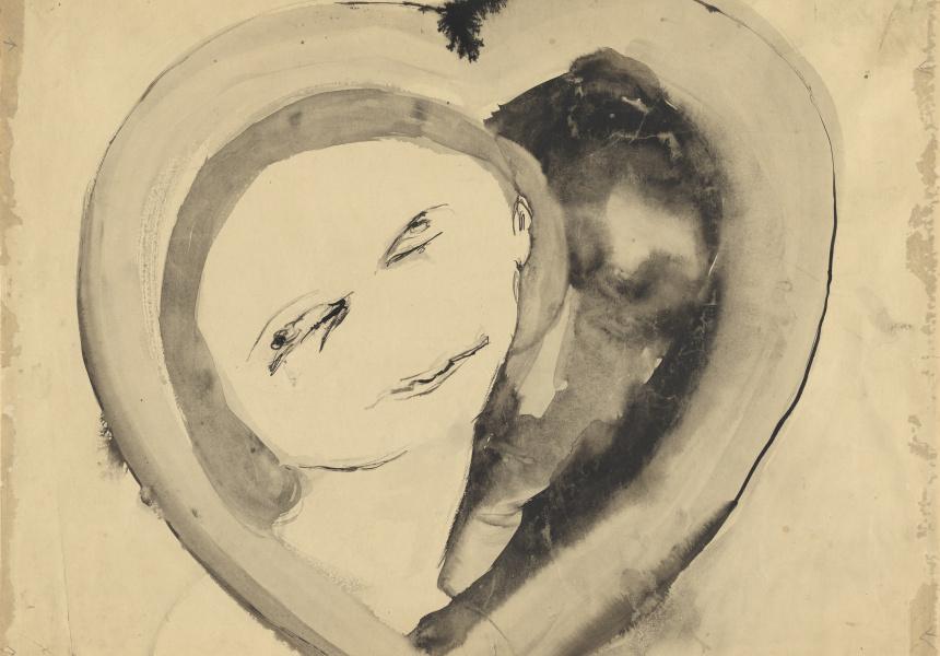 Joy Hester – Love (Heart  Group), 1949