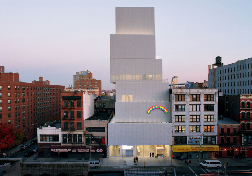 New Museum of Contemporary Art in Manhattan