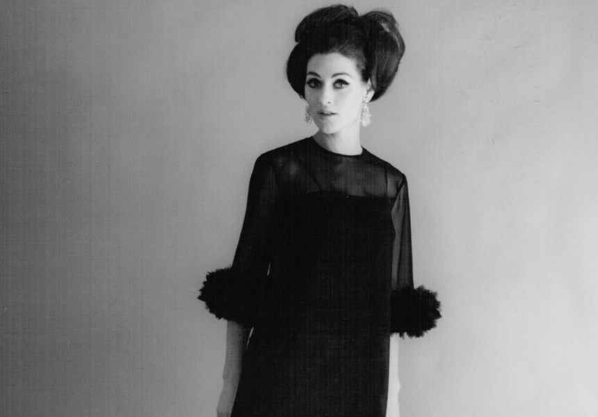 Sharene Creations/Mr Simon. Dress 1960s.Melbourne Fashion Label. Courtesy of Debra Dascal nee Shinberg.