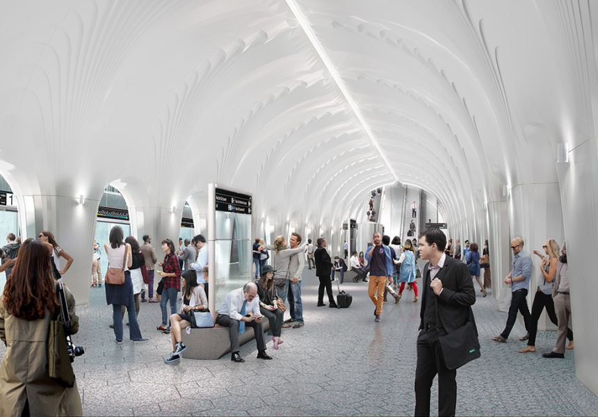 Concept for CBD South Station.