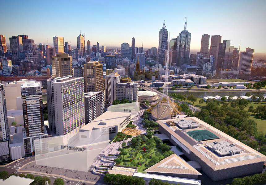 Melbourne to build largest contemporary art gallery in Australia