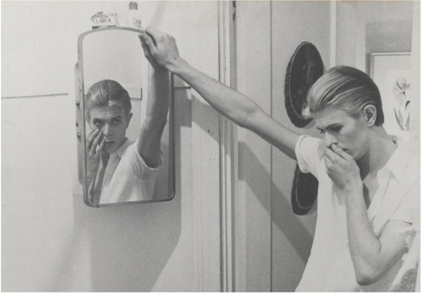 Collage by David Bowie of manipulated film stills from The Man Who Fell to Earth, 1975?6. Film stills by David James.