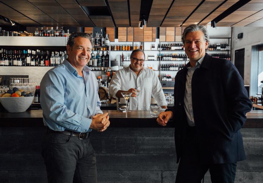 Jason Townes, Matt Giudice and John McVeigh of Republic of Fremantle.