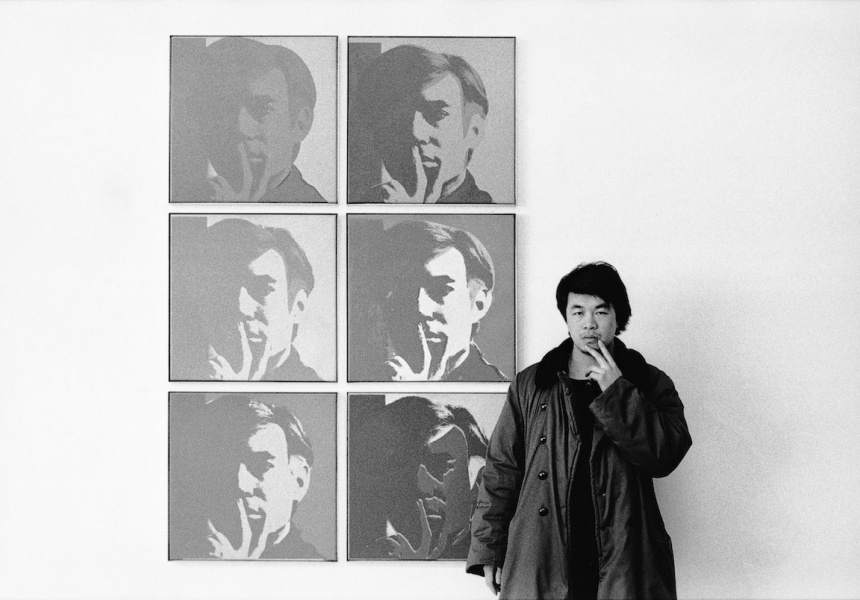 Ai Weiwei Chinese born 1957– At the Museum of Modern Art 1987 From the New York Photographs series 1983–93 Collection of Ai Weiwei © Ai Weiwei