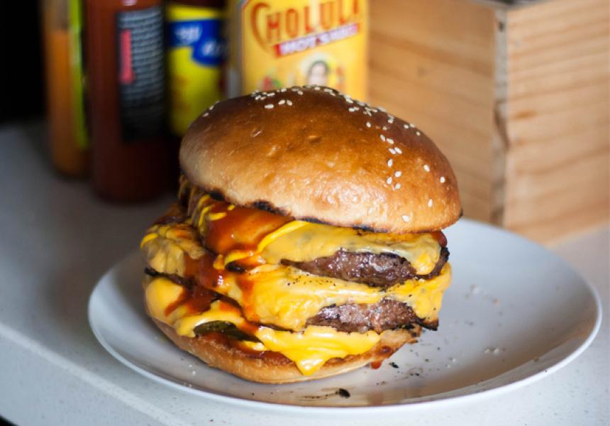 Jimmy's Burgers, Chilli Cheeseburger