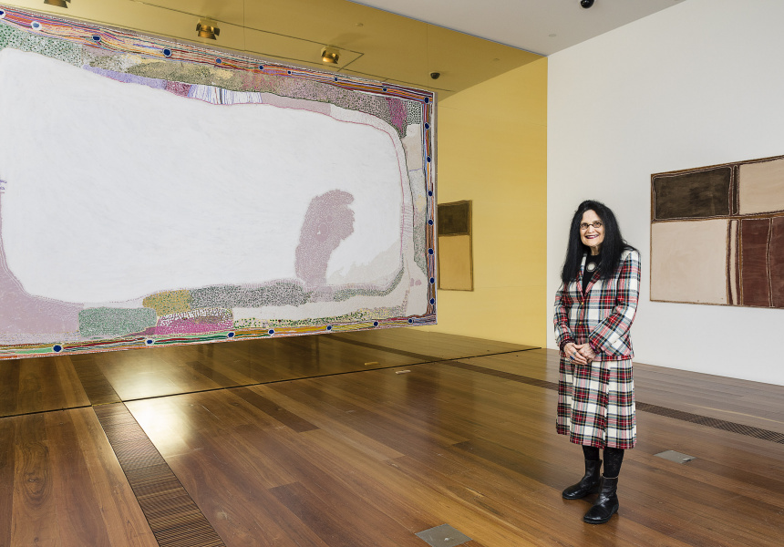 Portrait of Judith Ryan AM, Senior Curator of Indigenous Art, National Gallery of Victoria