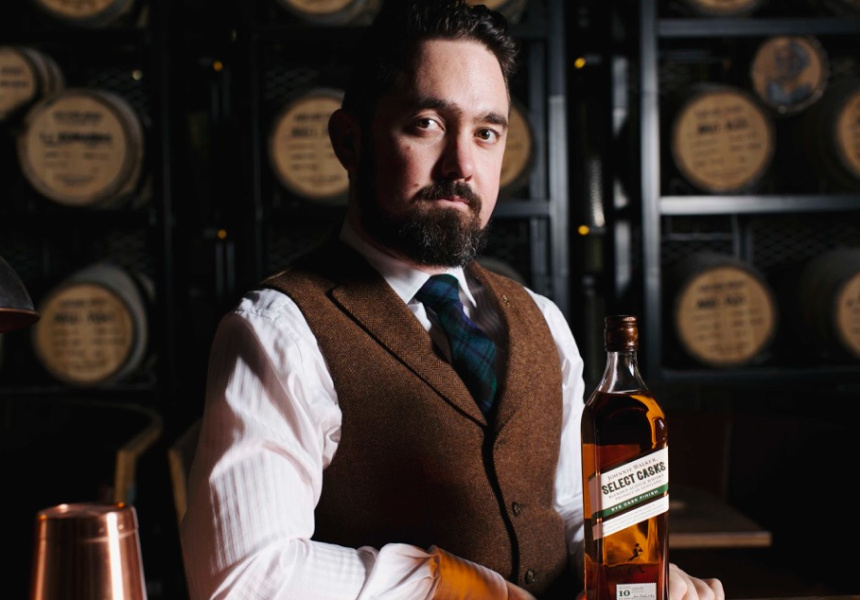 Johnnie Walker Scotch Whisky Ambassador Sean Baxter