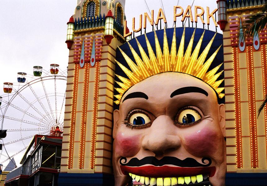An open air rooftop cinema at luna park broadsheet for Puerta 7 luna park