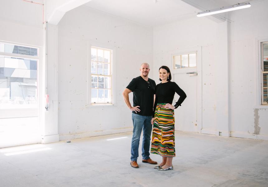 Andrew Baturo and Anna Spiro