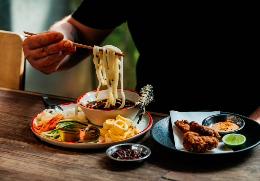 Rising Sun Workshop's dipping noodles