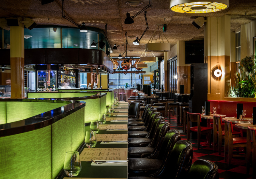 First look a dramatic new york style diner at natural