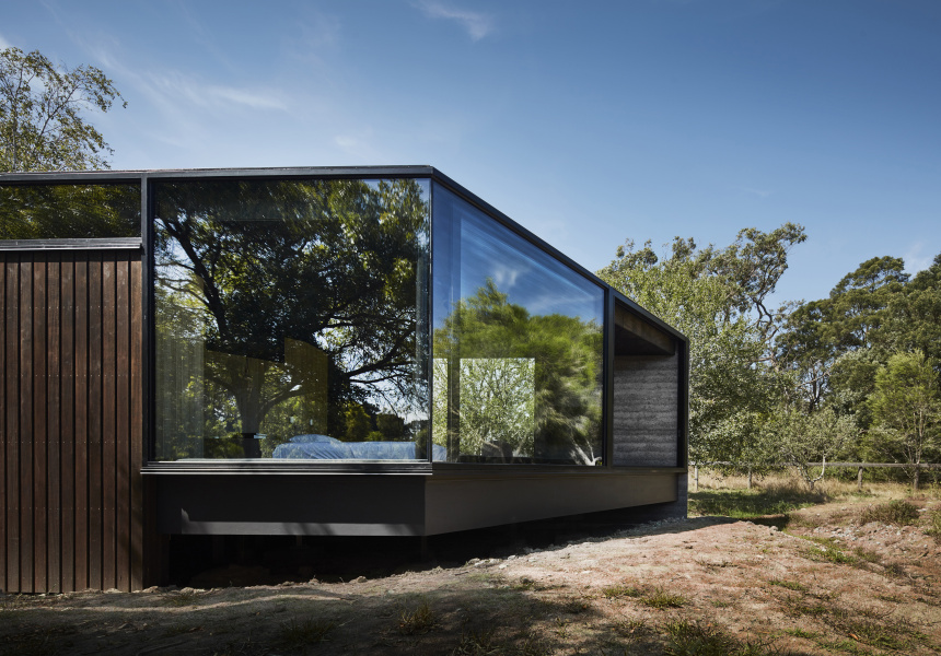 A Pavilion Between Trees, VIC (House Alteration and Addition Under 200 Square Metres)