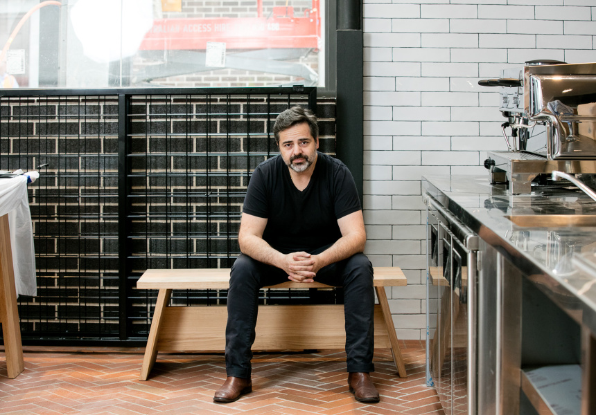 Eugenio Maiale, chef and owner of Flour Eggs Water