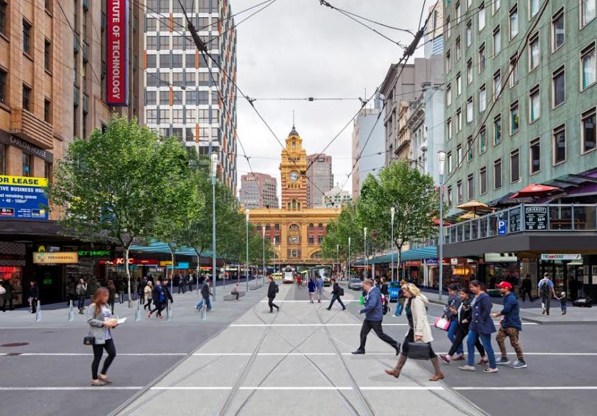Artist's Impression of Elizabeth Street Redevelopment
