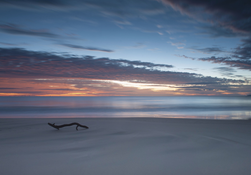 Inskip Point Recreation Area. Image via Tourism and Events Queensland/Nick Boustead.
