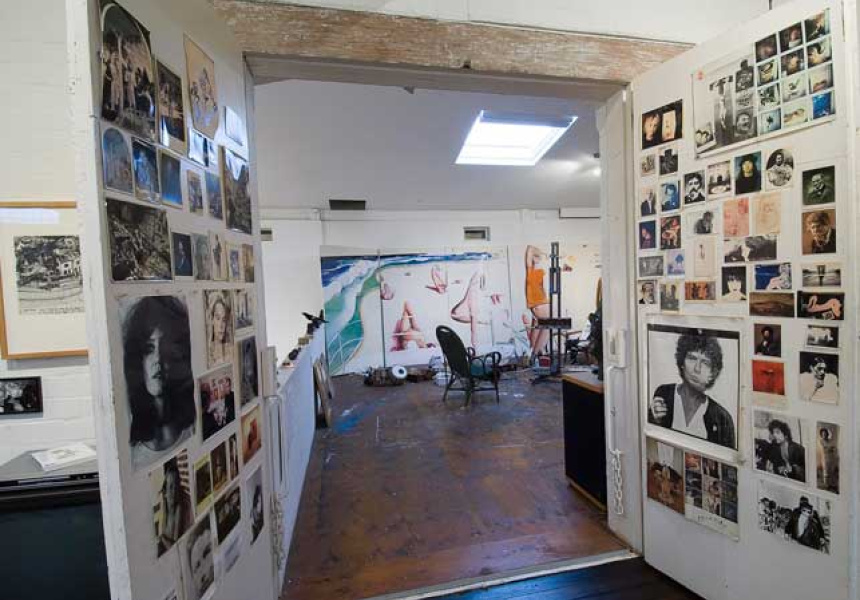 Interior of the Brett Whiteley Studio, Surry Hills. Photography by Diana Panuccio, 2007.