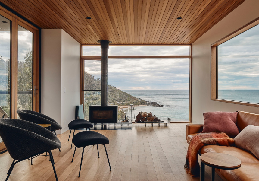 Y House by Andrew Simpson Architects