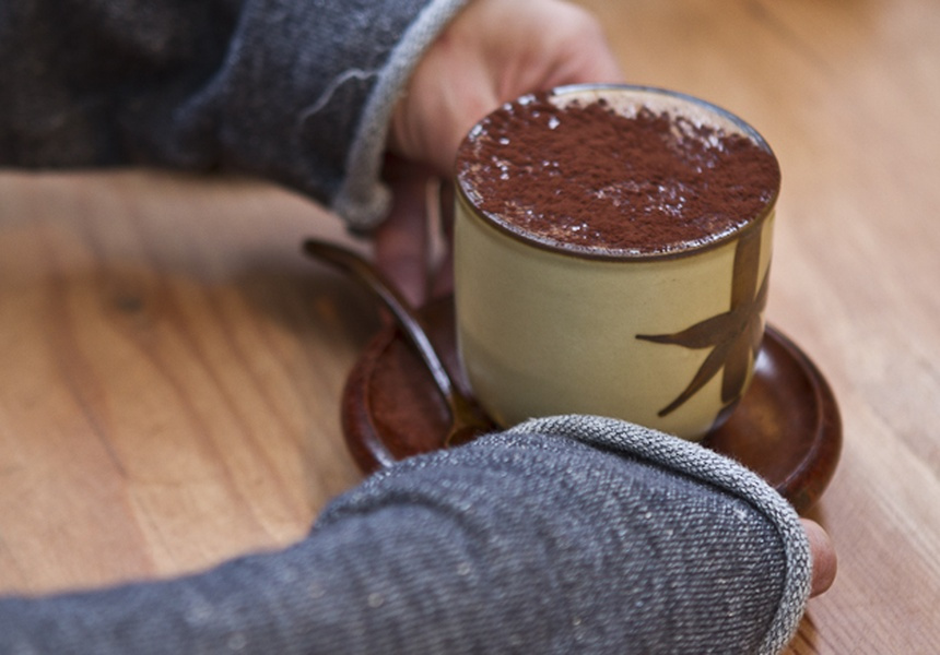 Hot chocolate at Monsieur Truffe
