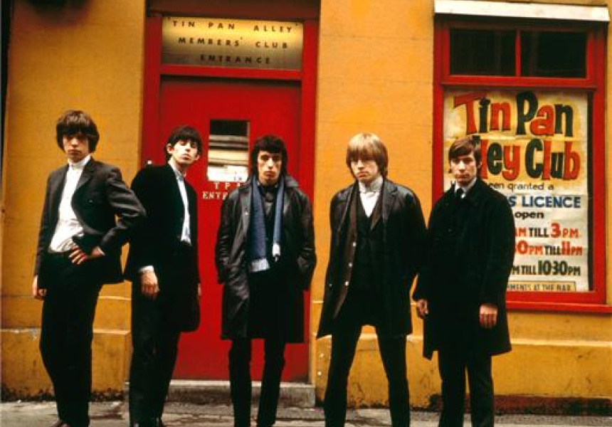 The Rolling Stones, Tin Pan Alley, 1963 by Terry O'Neill