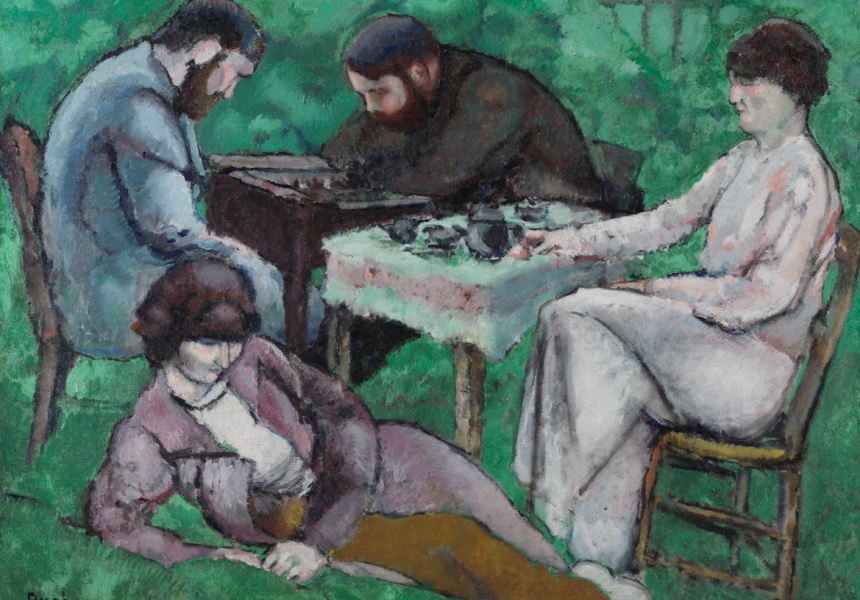 Marcel Duchamp 'The chess game' 1910 Philadelphia Museum of Art, Louise and Walter Arensberg Collection, 1950  © Association Marcel Duchamp/ADAGP. Copyright Agency, 2019