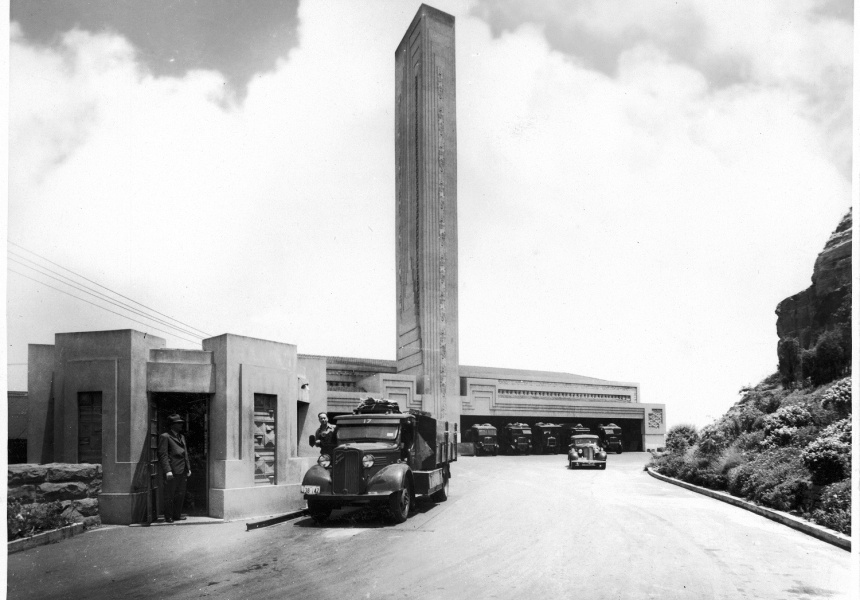 Pyrmont refuse incinerator, photographer unknown, late 1930s. City of Sydney Archives: NSCA CRS 538/254.