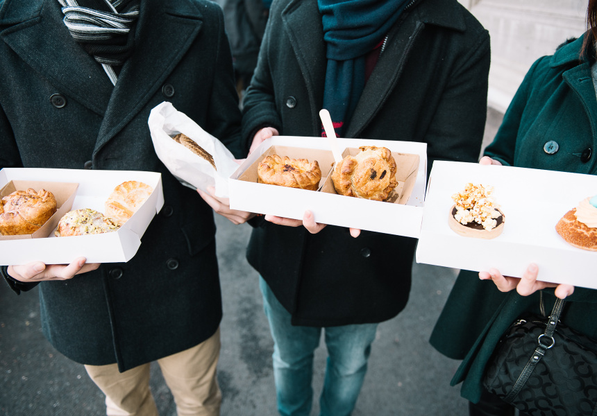 how to buy early riser ticket to sydney flour market