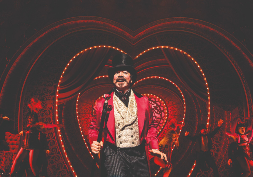 Broadway cast of Moulin Rouge! The Musical