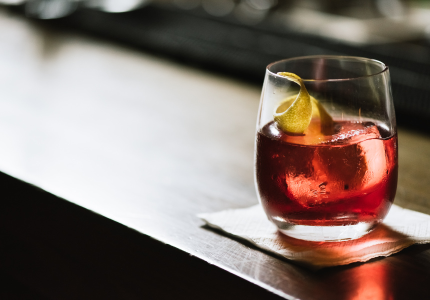 Negroni With A Twist
