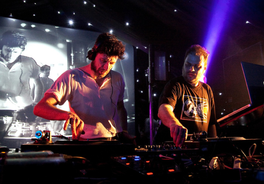 Optimo. JG Wilkes (left) and JD Twitch.